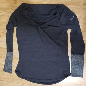 Avalanche long sleeve cowl neck shirt